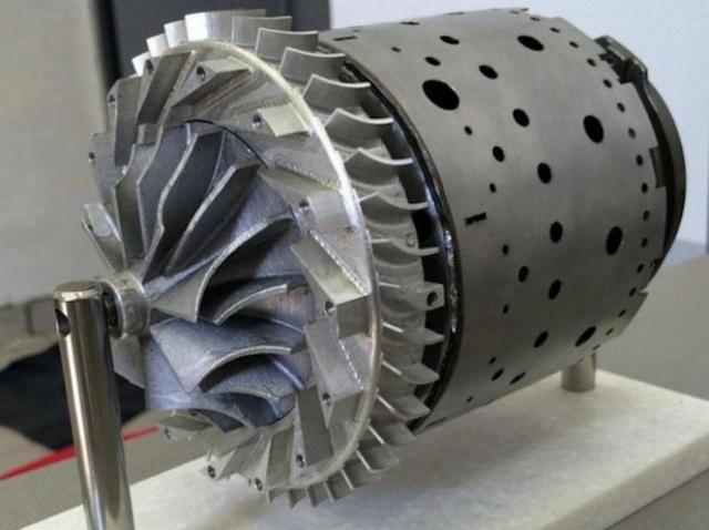 В Самарском университете создали 3D-печатную камеру сгорания газотурбинного двигателя