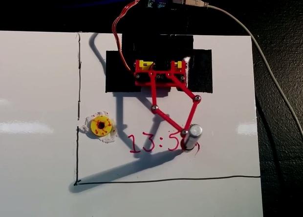 В Швейцарии разработали «робота-часового»