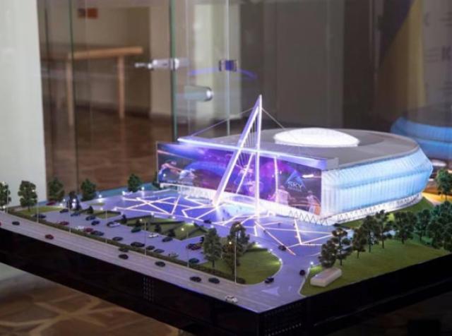 В столице построят полифункциональную спортивную арену за $10,4 млн