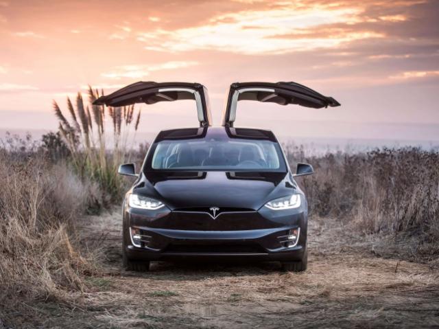 В Україні з'явилися перші моделі електрокросовера Tesla Model X