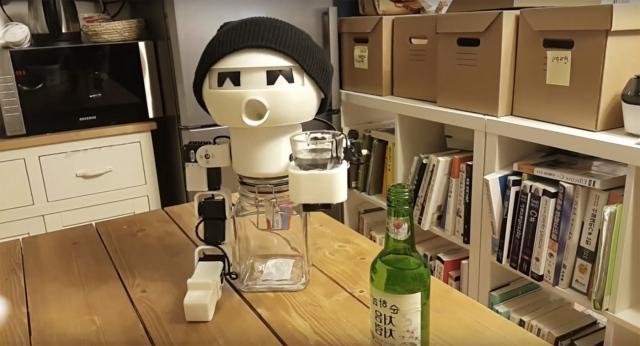 В Южной Корее создан робот-алкоголик