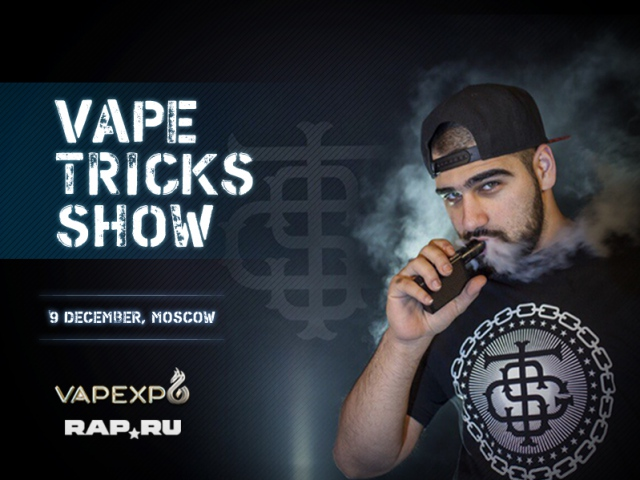 Vape Tricks Show by TSG at VAPEXPO Moscow 2016