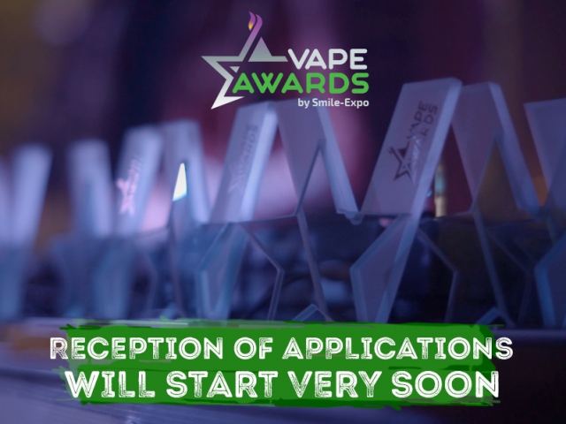 VAPEXPO MOSCOW Awards: reception of applications is coming soon!