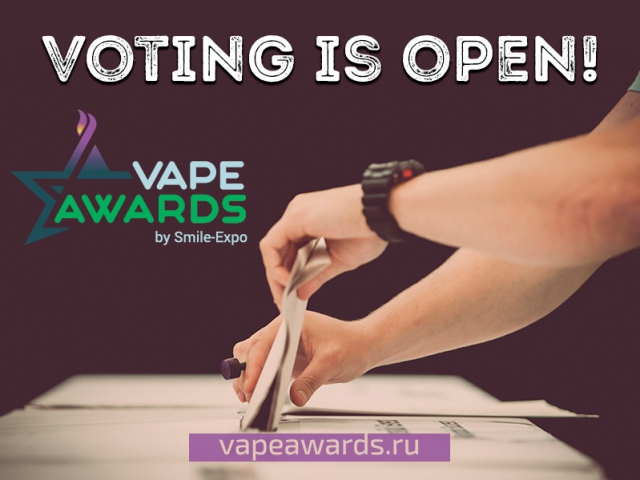 VAPEXPO MOSCOW Awards: veni, vidi, vote