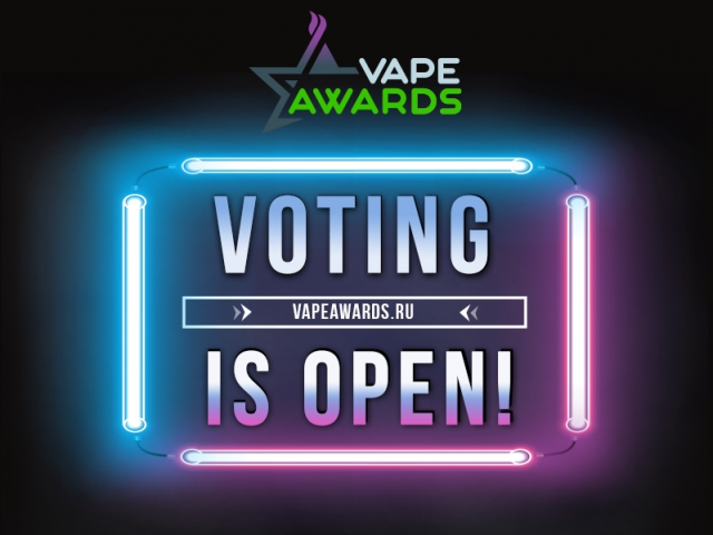 VAPEXPO MOSCOW: start of Vape Awards voting!