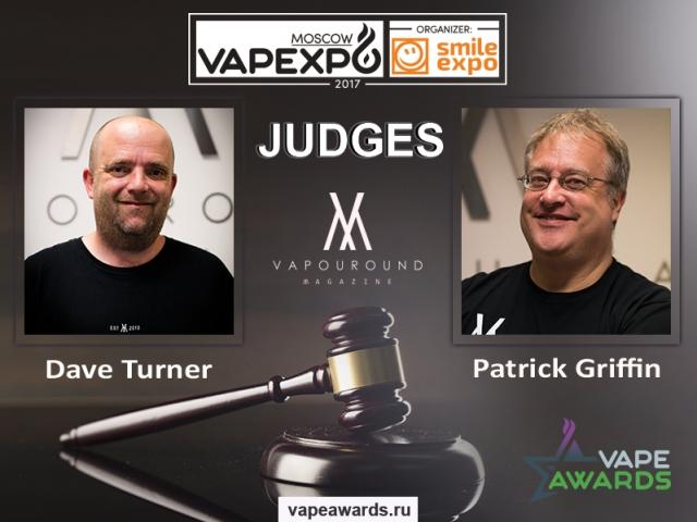 Vapouround Magazine representatives to judge Vape Awards at VAPEXPO Moscow
