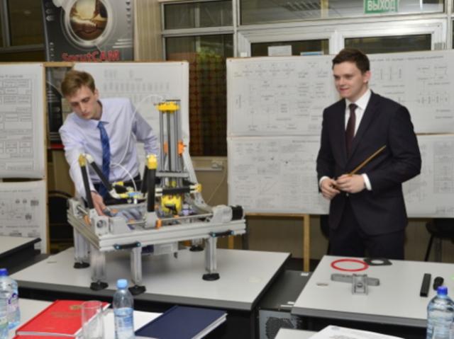 Выпускники МГТУ им. Баумана спроектировали 3D-принтер, работающий на базе параллельной кинематики