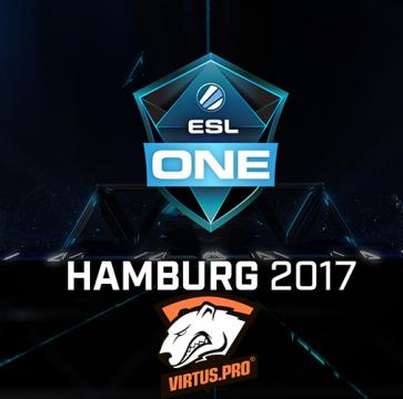 Virtus.pro has qualified for ESL One Hamburg with $1 million prize fund
