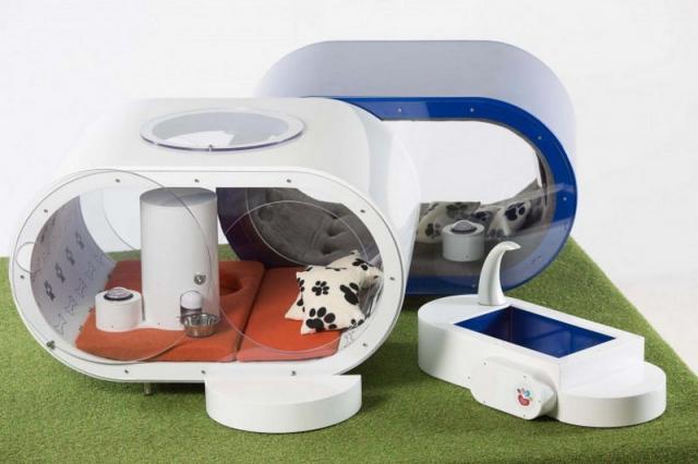 Высокотехнологичный домик для собак за $30 тысяч