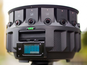 VR-камера от Google с семнадцатью объективами