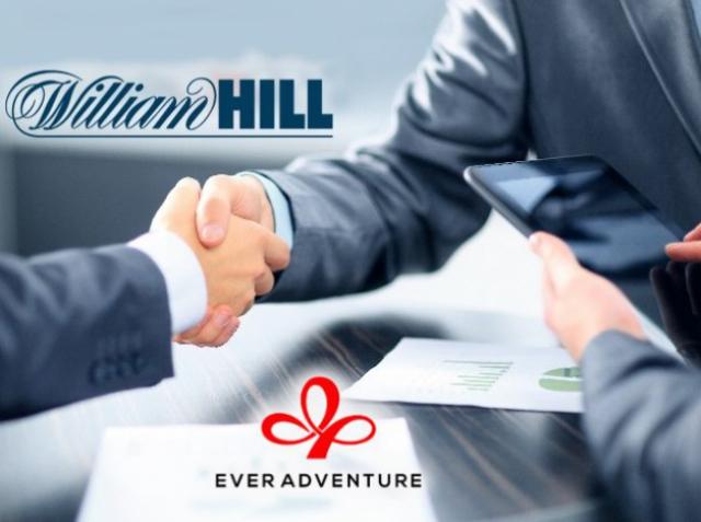 William Hill и Ever Adventure вместе создадут онлайн-казино
