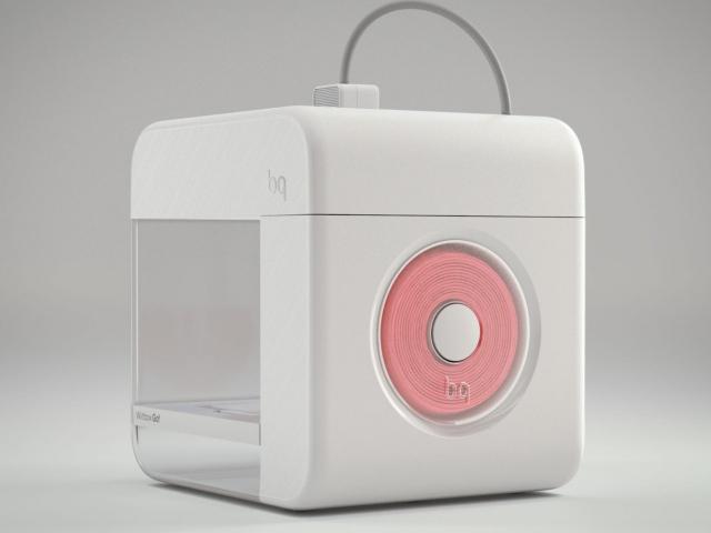 Witbox Go! – первый 3D-принтер на ОС Android от компании BQ