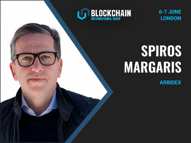 World`s top Fintech Influencer Spiros Margaris to speak at Blockchain International Show