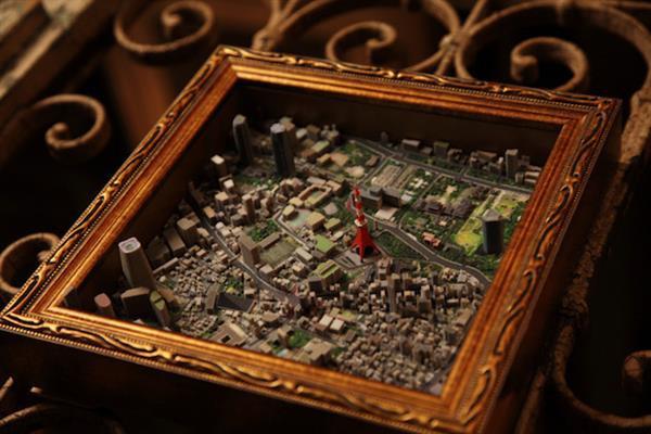 Японская компания iJet предлагает диковинку: невероятные 3D-печатные диорамы