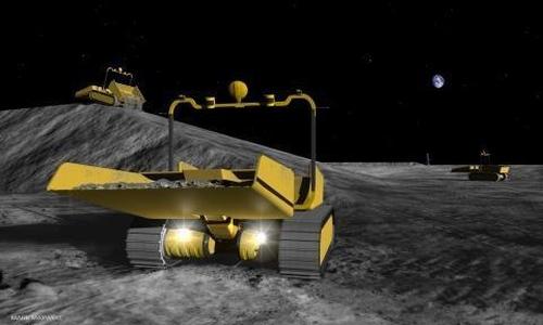 Японские роботы-строители будут работать на Марсе и Луне