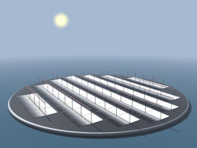 Японцы построили две плавучие солнечные электростанции