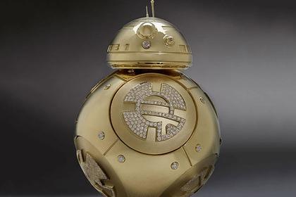 Ювелирный концерн выпустил золотого дроида из «Звёздных войн»