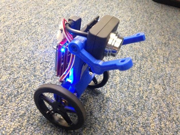 Знакомьтесь: Eddie, напечатанный на 3D-принтере балансирующий робот