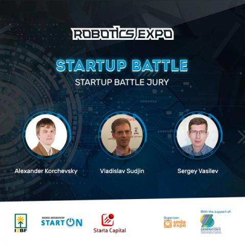 Знакомьтесь с тройкой членов жюри Битвы стартапов на Robotics Expo