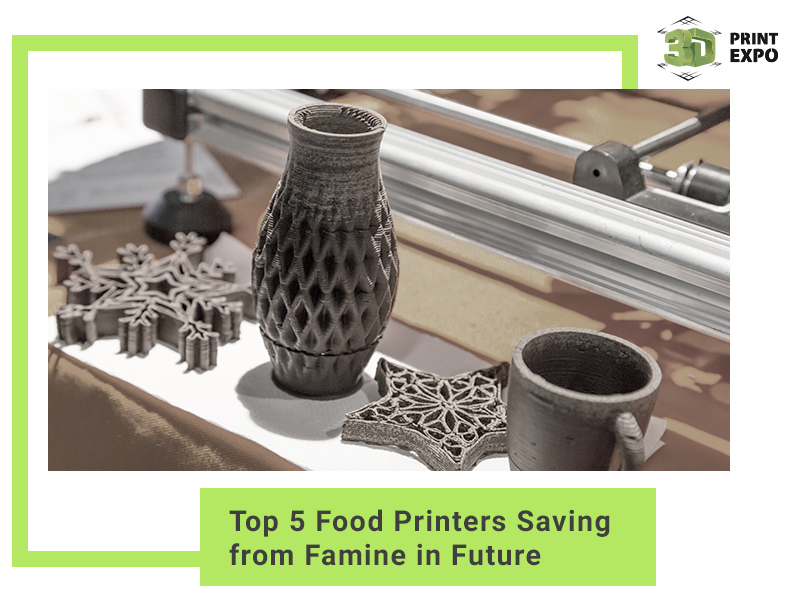 Top 5 Food Printers Saving from Famine in Future