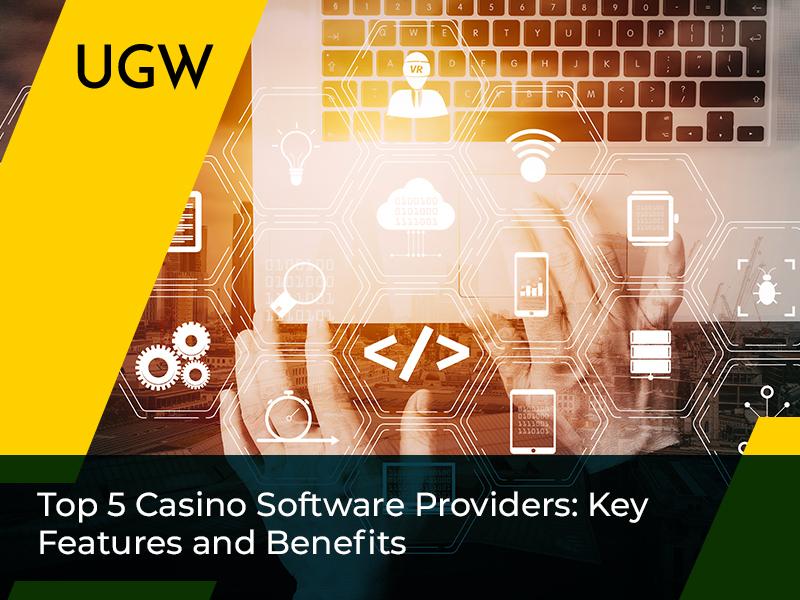 Top 5 Providers of Online and Offline Casino Software