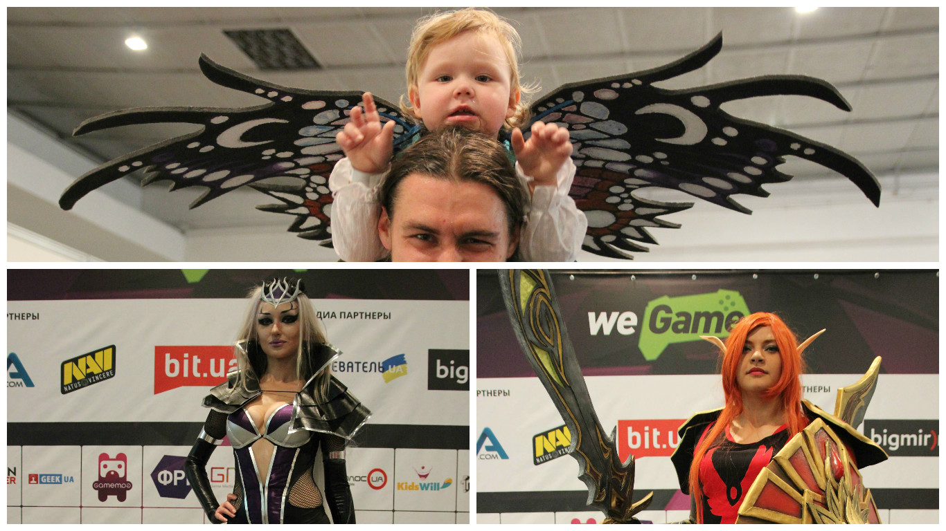 Top 7 cosplayers who attended WEGAME 2.0