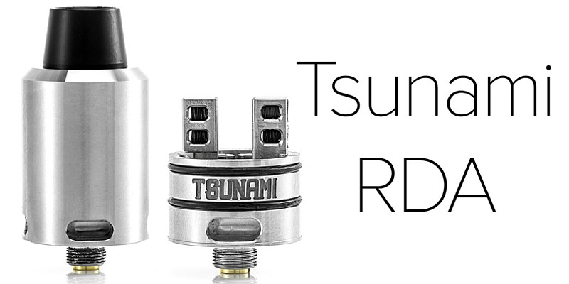 Tsunami Pro RDA by GeekVape – продовження легенди