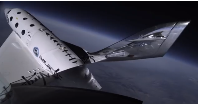 SpaceShipTwo will take tourists into space