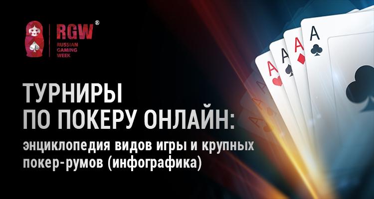 Турниры по покеру онлайн: энциклопедия видов игры и крупных покер-румов (инфографика)