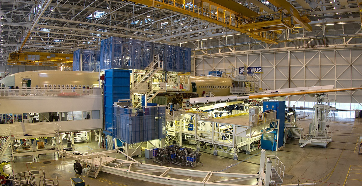 Более 1000 деталей отпечатано на 3D-принтере для нового самолёта Airbus