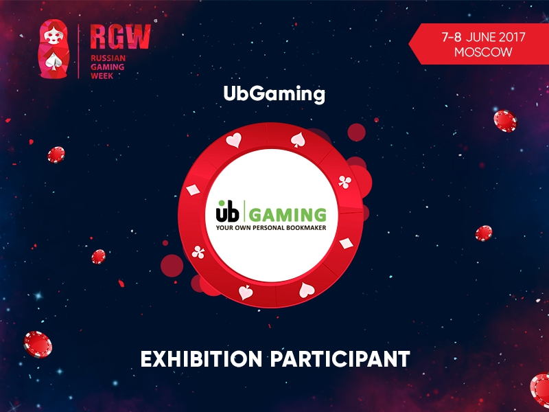 UB|GAMING to present its best products for betting business at RGW 2017