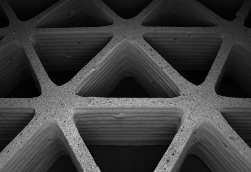 Ученые из Гарварда и MIT тестируют печать керамической пеной