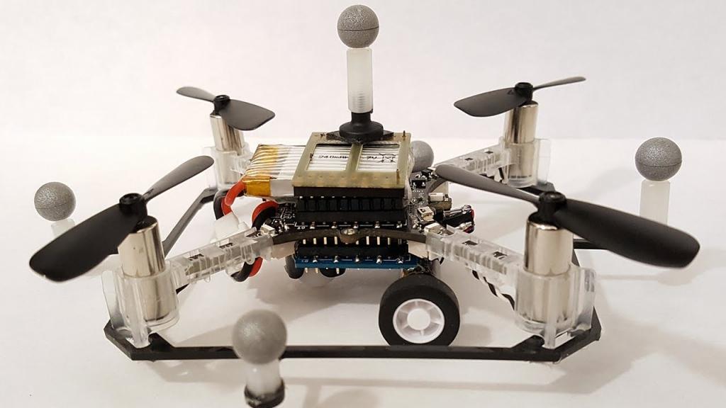 Ученые разработали систему координации полета гибридных дронов