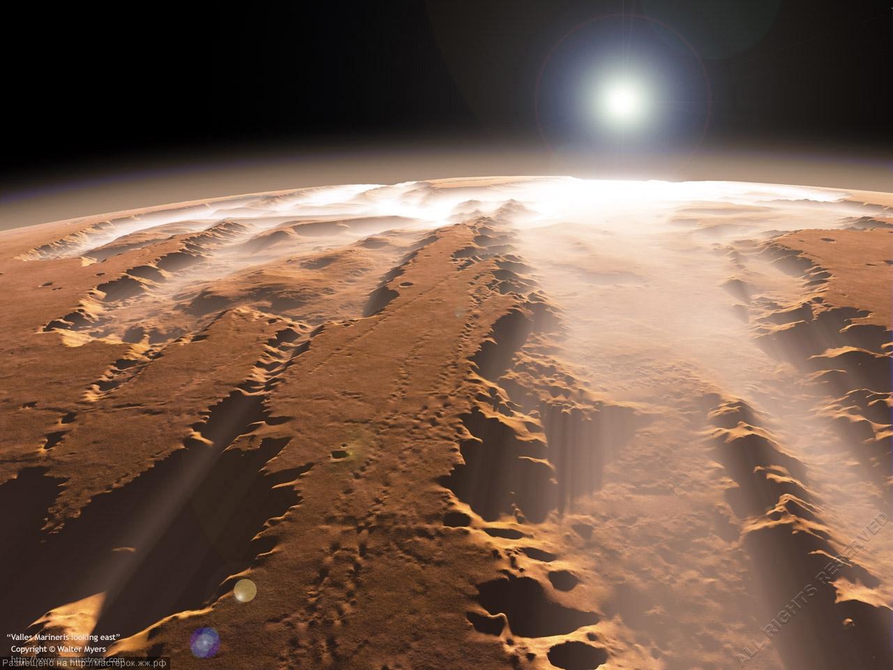 Ученые выяснили новые подробности существования воды на Марсе