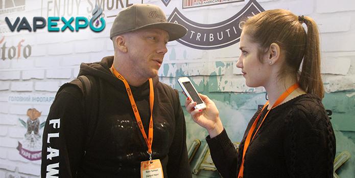 Учредитель компании Diamond Vapor Keith Fairman: я хочу, чтобы мое имя знали в Украине