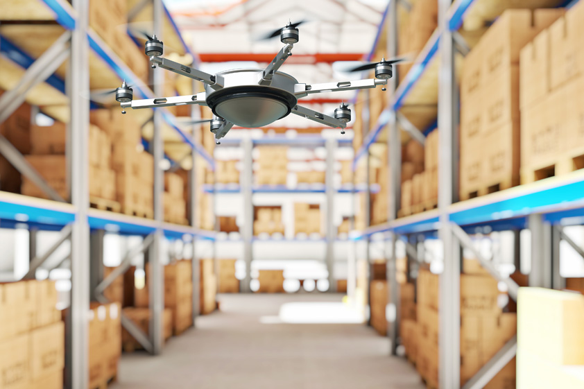 MIT scientists have developed a drone system that helps to automatize inventory