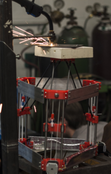 Scientists build a $1,500 open-source 3D metal printer