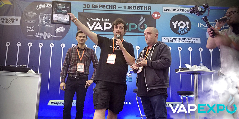 UK-based Vapouround magazine to write about Vape Awards winners