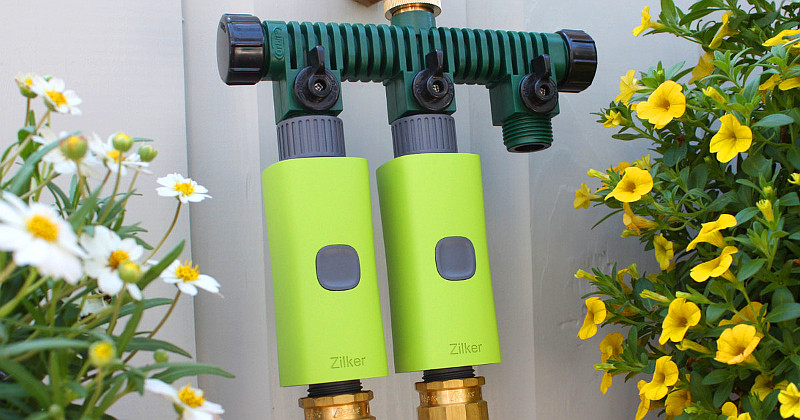Умный клапан для полива экономит до 30% воды