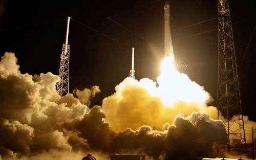 Успешная посадка первой ступени Falcon 9