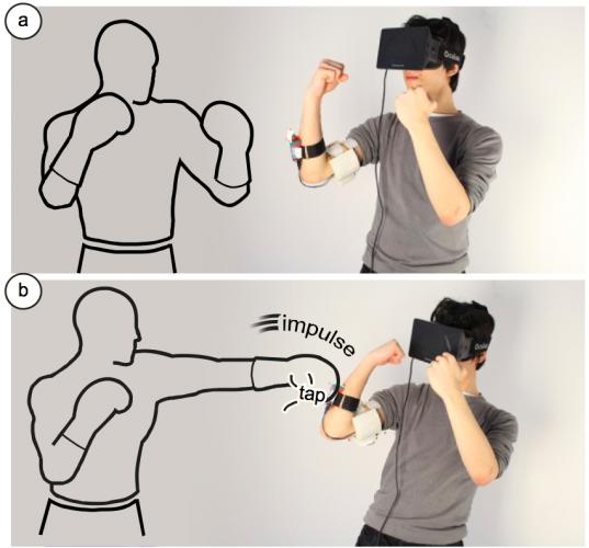 Устройство виртуальной реальности, созданное с помощью 3D-печати, научили бить пользователя