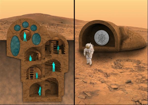 В 2016 году RedWorks протестирует технологии, используемые на Марсе, для создания домов на Земле