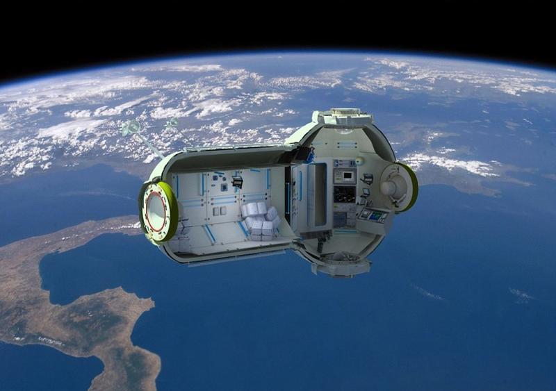 В Америке успешно испытали капсулу для космических туристов