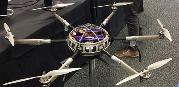 В Австралии на 3D-принтере напечатали пожарный дрон