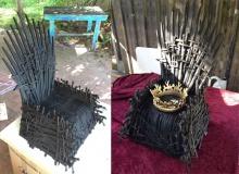 """В Австралии создали детский 3D-печатный Железный трон из """"Игры престолов"""""""