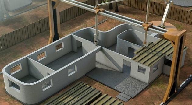 В Беларуси можно будет строить дома с помощью 3D-принтеров уже через пять лет
