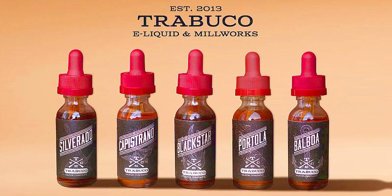 В чем особенность жидкостей Trabuco Vapors E-Liquid?