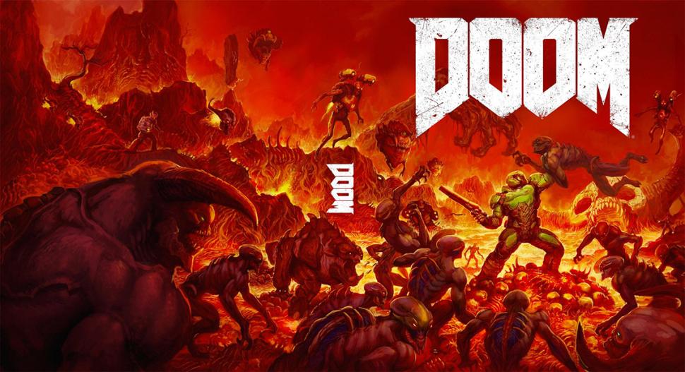 В Doom играют на бензопиле