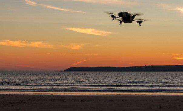 В Дубае дроны будут следить за чистотой на пляжах