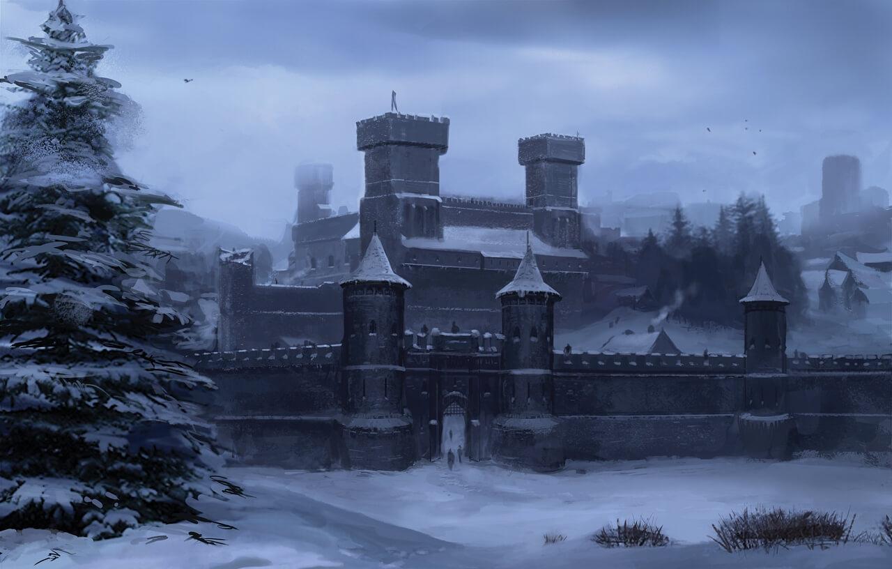 В Екатеринбурге с помощью 3D-принтера строят копию башни замка «Винтерфелл»